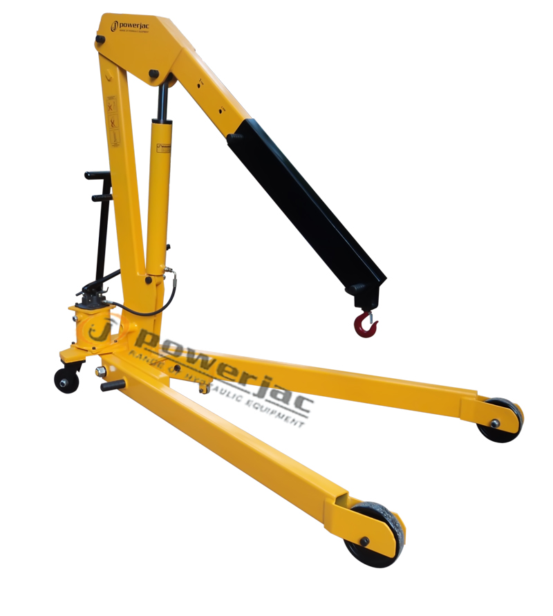 Foldable Hydraulic Mobile Floor Cranes