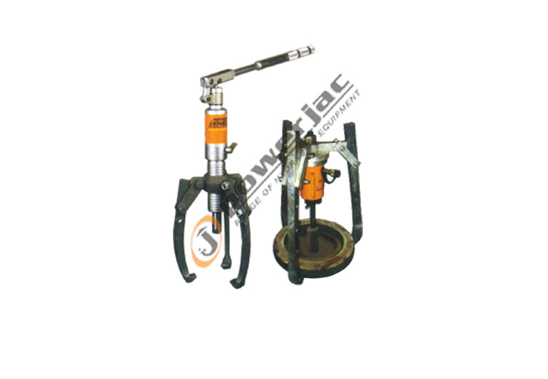 Hydraulic Pullers Manufacturers In India : Hydraulic jacks pancake mechanical track
